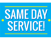 Same day Cleaning Available